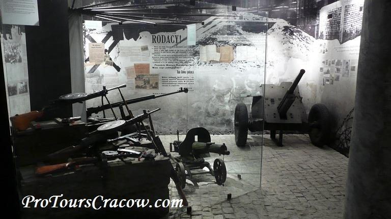 Weapons in Schindlers Factory